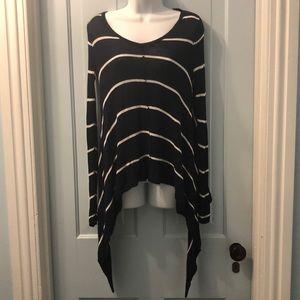 Lovemarks sweater striped long sleeve Sz XS